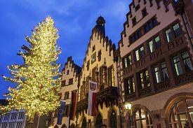 stock photo of frankfurt am main  - The R - JPG