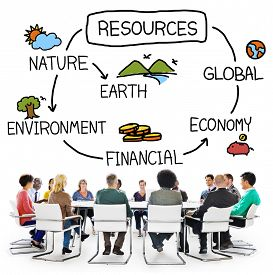 image of economy  - Natural Resources Environment Economy Finance Concept - JPG
