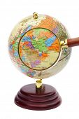 stock photo of eastern hemisphere  - Iran - JPG