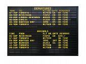 Signo de aeropuerto
