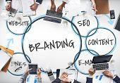 Digital Marketing Branding Loyalty Graphics poster