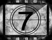 Film countdown at No 7