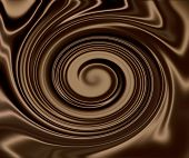 Dark Chocolate Silk Swirl #2