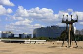 Square of the Three Powers brasilia city capital of brazil