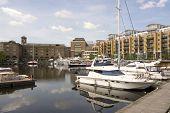 St Katherines Dock, London, England