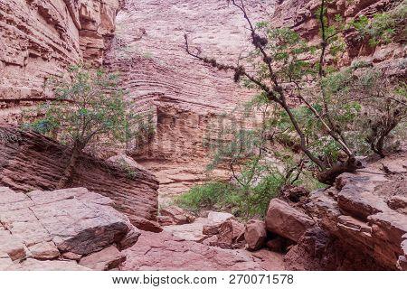 Rock Formation Called Garganta Del