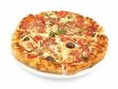 image of pizza parlor  - Pizza cuts - JPG