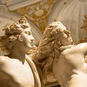 Bernini Statue: Apollo E Dafne (apollo And Daphne) poster