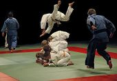 Judo Training (jumps)