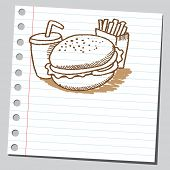 Scribble fast food