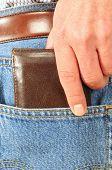 Batedor de carteiras.