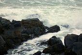 Waves Over Rocks 2