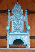 Chair Made Under An Ancient Imperial Throne With Gilding