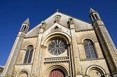 Niort alte gotische Kirche, Aquitaine, Frankreich