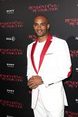 LOS ANGELES - SEP 12: Boris Kodjoe at the LA premiere of 'Resident Evil: Retribution' at Regal Cinem