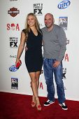 LOS ANGELES - SEP 8:  Ronda Rousey, Dana White arrives at the