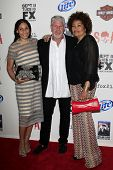 LOS ANGELES - SEP 8:  Blake Perlman, Ron Perlman, Opal Stone arrives at the