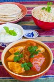 foto of raita  - Chicken Rogan Josh with natural rice - JPG