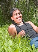 Native American Teenage Boy