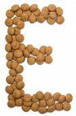 Ginger Nut Alphabet E
