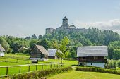 Stara Lubovna Castle and an open air folk museum, Slovakia
