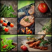 Barbacoa barbacoa Collage