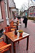 Delft, Netherlands Street Cafe