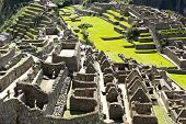 Machu Picchu, The Ancient Inca City In The Andes, Peru