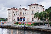 Museu de Miami Vizcaya no waterfront