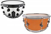 pic of vaudeville  - The image of drums under a white background - JPG