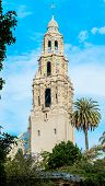A Tower in Balboa Park San Diego, California USA
