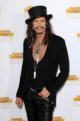 LOS ANGELES - JAN 14:  Steven Tyler at the 50th Anniversary Of Sports Illustrated Swimsuit Issue at