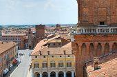 The Este Castle. Ferrara. Emilia-Romagna. Italy.