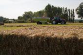 Landwirte sind beschäftigt