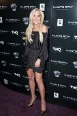 Lindsay Lohan at the Saints Row: The Third Game Pre-Launch Event, Supperclub, Hollywood, CA. 10-12-11