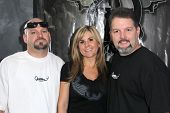 Jarrod Schulz, Brandi Passante, Britt Griffith at the Grand Opening of