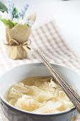 picture of wanton  - Wonton Soup - JPG