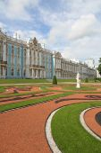 Catherine Palace, Tsarskoye Selo (pushkin), St. Petersburg, Russia.