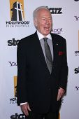 Christopher Plummer at the 15th Annual Hollywood Film Awards Gala, Beverly Hilton Hotel, Beverly Hills, CA 10-24-11