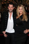 Maksim Chmerkovskiy, Kirstie Alley at the