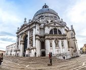 Santa Maria Della Salute Church  In Venice, Italy.