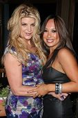 Kirstie Alley, Cheryl Burke at Cheryl Burke's Birthday Celebration, BoHo, Hollywood, CA. 05-02-11
