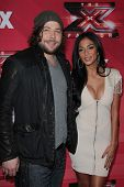 Josh Krajcik and Nicole Scherzinger at