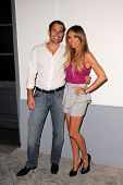 Bill Rancic, Giuliana Rancic  at the UK Style By French Connection Launch Party, Lexington Social Ho