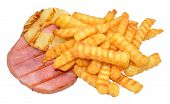 Gammon Steak And Chips
