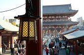 Tokyo, Japan - November 21: The Buddhist Temple Senso-ji Is The Symbol Of Asakusa