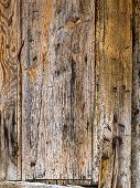 an old wooden wall as a background with copy space