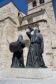 Penitents' monument, Zamora, Spain