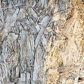 Wooden pressed shavings natural background