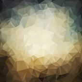 polygonal grunge background